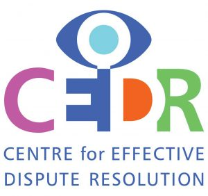 CEDR Centre for Effective Dispute Resolution logo