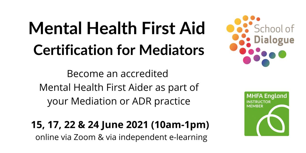 MHFA for Mediators