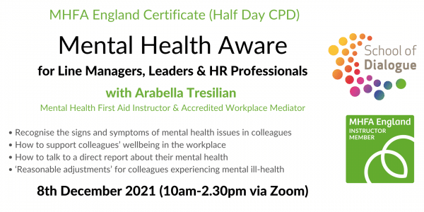 Course on mental health on 8th dec 2021