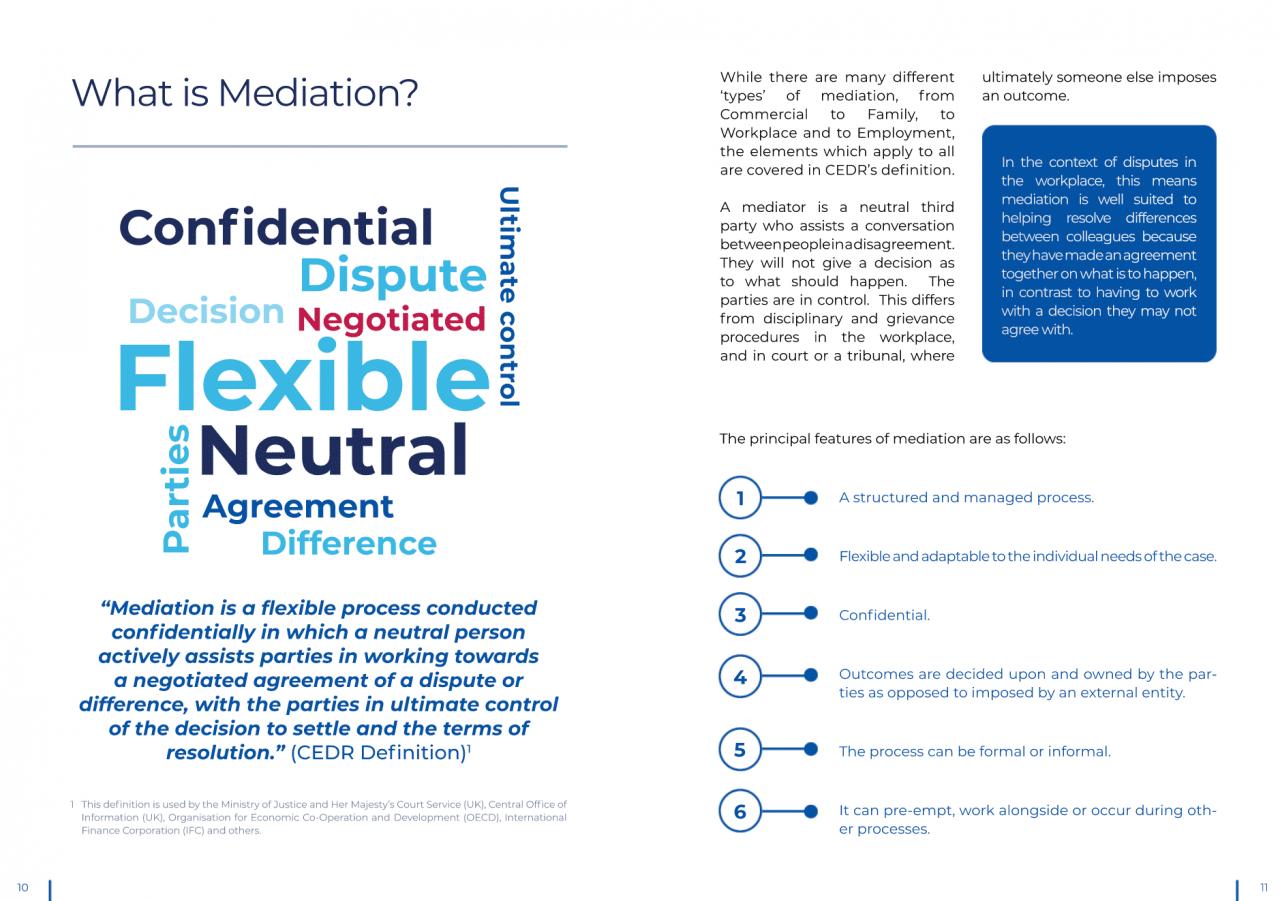 CEDR guide to mediation 2